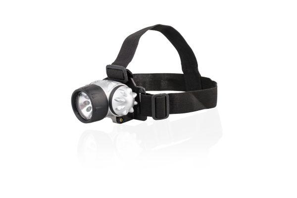 LED hoofdlamp 9 led (excl. Batterijen AAA)
