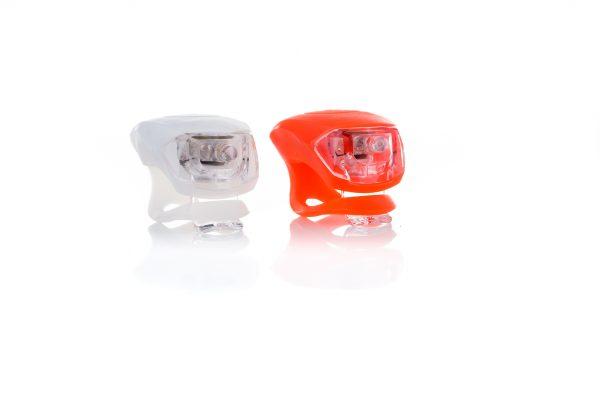 LED fietslampjes met siliconen bandje
