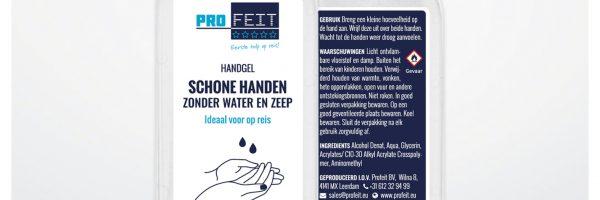 Profeit Handgel - 80 ml