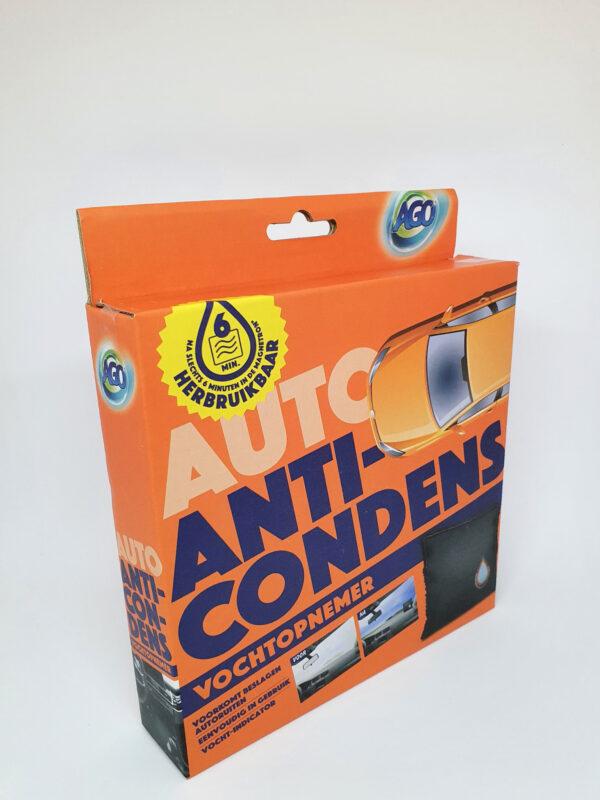 Anti-condens vochtopnemer
